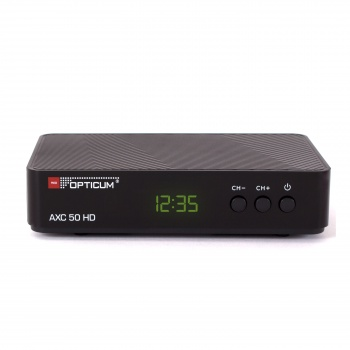 Tuner DVB-T/T2/C Opticum AXC 50 HD