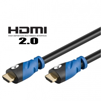 Kabel HDMI-HDMI 1,0m (2.0v) Spacetronik