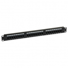 Patch Panel 24 porty kat.5 + uchwyt na kable