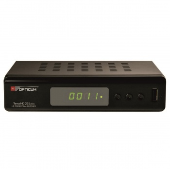 Tuner DVB-T/T2 Opticum TERRA HD 265 plus HEVC