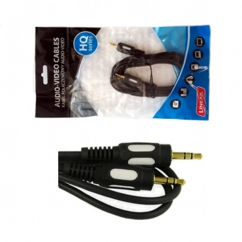 Kabel poł. Jack 3,5mm-Jack 3,5mm 3m HQ