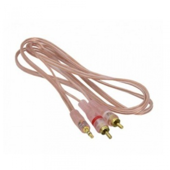 Kabel Jack 3,5mm - 2xRCA 3m HQ